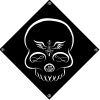 """Sticker repositionnable """"Free Your Mind"""" par Timmy Willy - Univers de décoration Black Poetry - Colori Noir"""