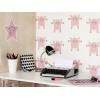 """Un bureau ou une chambre déjanté avec le sticker """"Pig Is Not Dead"""" par Stéphanie Herrbach"""