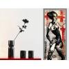 """Sticker repositionnable """"OMG"""", une création exclusive de l'artiste Alexandre Akar - Détail"""